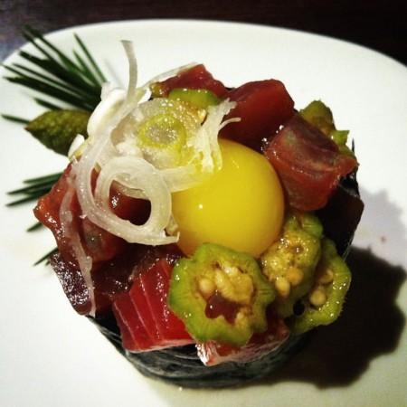 maguro ikuro okuro ambiente rilassante ristorante giapponese KOME firenze kaiten sushi aperisushi bbq grill