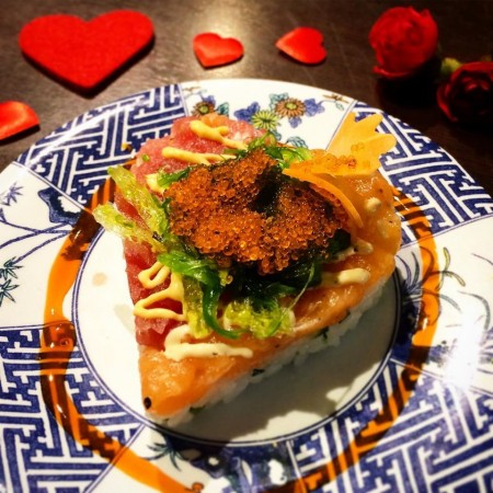 San Valentino Sushi KOME ristorante Firenze